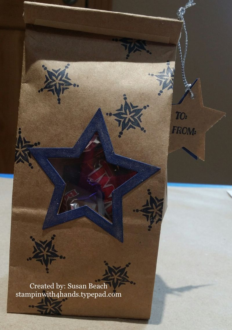 Star window bag